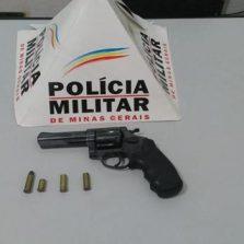 Homem briga com a ex-esposa e atira no filho em Araponga