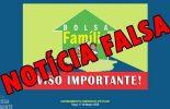 Atenção Cuidado: Saque de R$470,00 de Bolsa família é falso