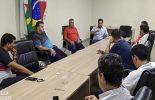 Ângelo Chequer se reúne com prefeitos da região para discussão de ações de enfrentamento ao coronavírus
