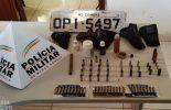 PM de Paula Cândido apreende munições após denúncia anônima