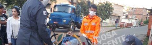 Colisão entre motos deixa dois feridos no Vale do Sol