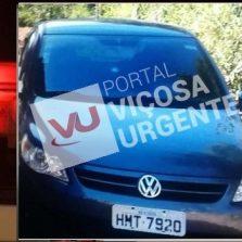 PM de Viçosa recupera carro roubado