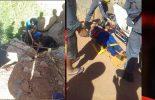 Motoqueiro sofre acidente em Teixeiras