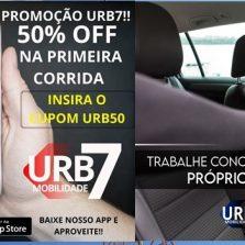 Chegou em Viçosa URB7, o mais novo e moderno aplicativo de Mobilidade Urbana