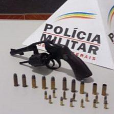 São Miguel do Anta: Mulher é presa com arma de fogo