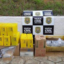 Semana Nacional de Combate às Drogas, PCMG incinera drogas em Viçosa e cidades da região