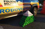 Itabirito: Homem é preso com 56 barras de maconha que seria entregues em Ponte Nova