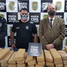 Polícia Civil apreende mais de 140 Kg de drogas em Juiz de Fora