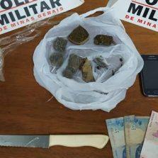 Dois suspeitos são presos com drogas em Coimbra