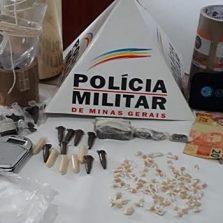 Suspeito é preso com drogas em Paula Cândido