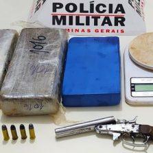 Polícia Militar apreende mais de 15 mil reais em drogas durante abordagem em Canaã