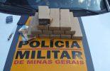 Motorista é preso transportando drogas na MG 262, em Ponte Nova