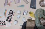 Homem é preso com drogas na Vila Santana em Teixeiras