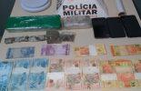 Suspeitos presos por tráfico de drogas em Teixeiras