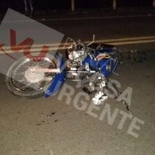 Motoqueiro fica gravemente ferido em acidente em Coimbra