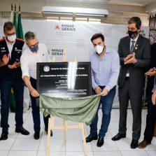 Romeu Zema inaugurou na manhã de hoje 08/10, UTI Pediátrica em Viçosa