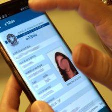 Eleitor poderá justificar o voto pelo celular